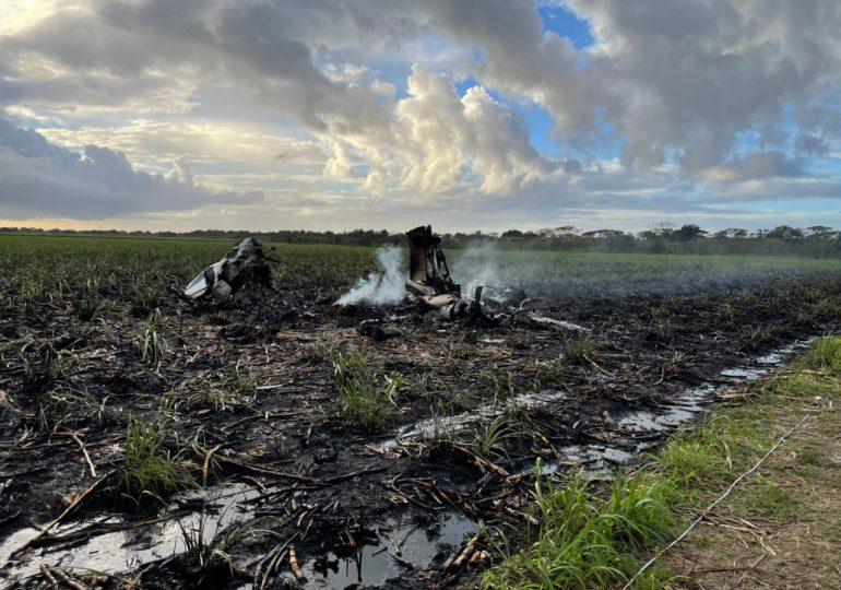 Mueren dos personas por accidente aéreo en La Altagracia