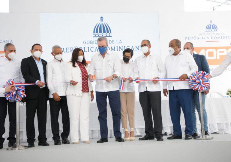 Inauguran nueva carretera Dajabón-Copey-Montecristi para la expansión del desarrollo fronterizo