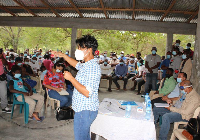 Empresa de Generación Hidroeléctrica escucha demandas de moradores de comunidad Mucha Agua, San Cristóbal
