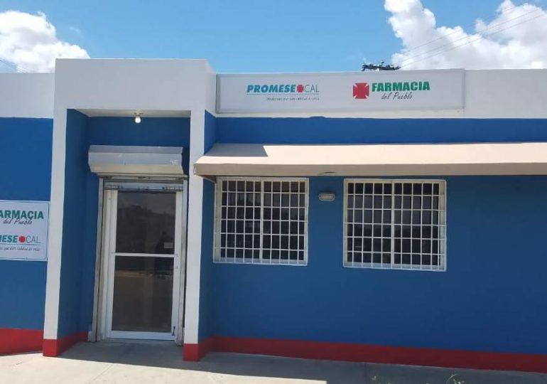 Promese/Cal remoza estructuras y arregla fallas eléctricas de las Farmacias del Pueblo