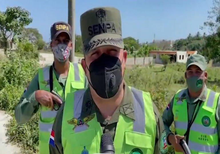 Video | SENPA incauta camiones y equipos de extracción de material en operativo
