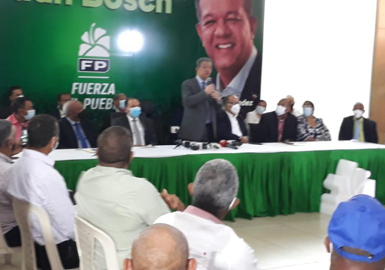 """Leonel Fernández """"La Fuerza del Pueblo tiene un efecto viral y no es del Covid-19"""""""