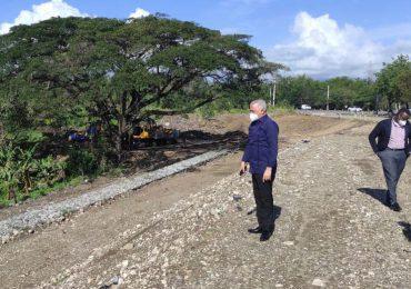 Avanza reconstrucción del distribuidor de tránsito de San Cristóbal