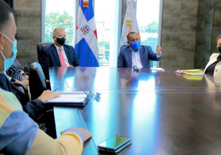 Coordinan plan de cooperación para el Desarrollo Aeroportuario Nacional
