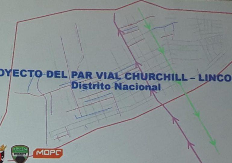 Realizan vistas públicas sobre proyecto de convertir avenidas Lincoln y Churchill en una sola vía