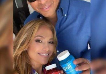 Jennifer López y Alex Rodríguez reaparecen juntos para promocionar un producto