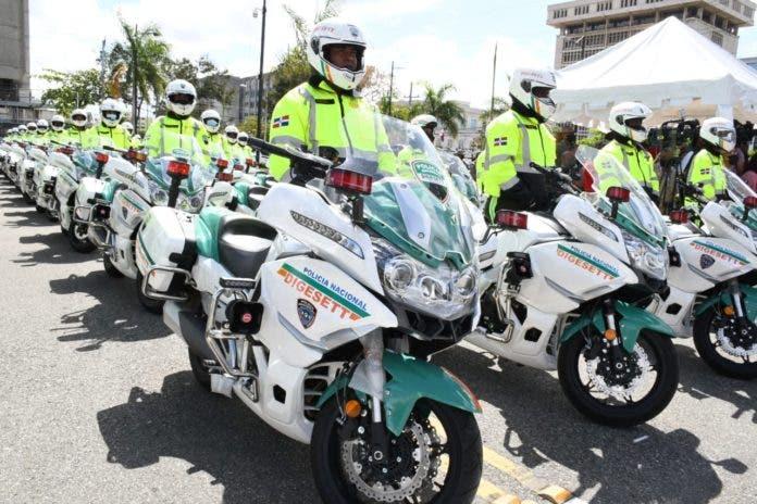 DIGESETT incorpora 60 nuevas motocicletas para labores de  asistencia