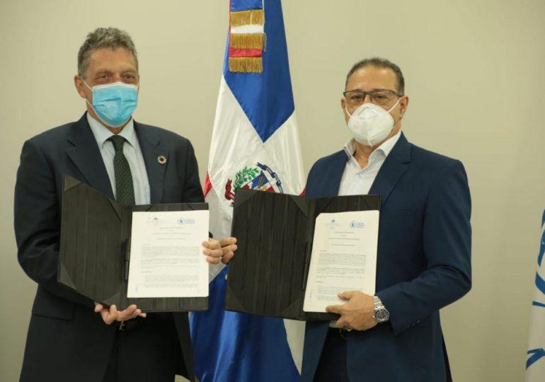 INABIE y el Programa Mundial de Alimentos  firman acuerdo de cooperación