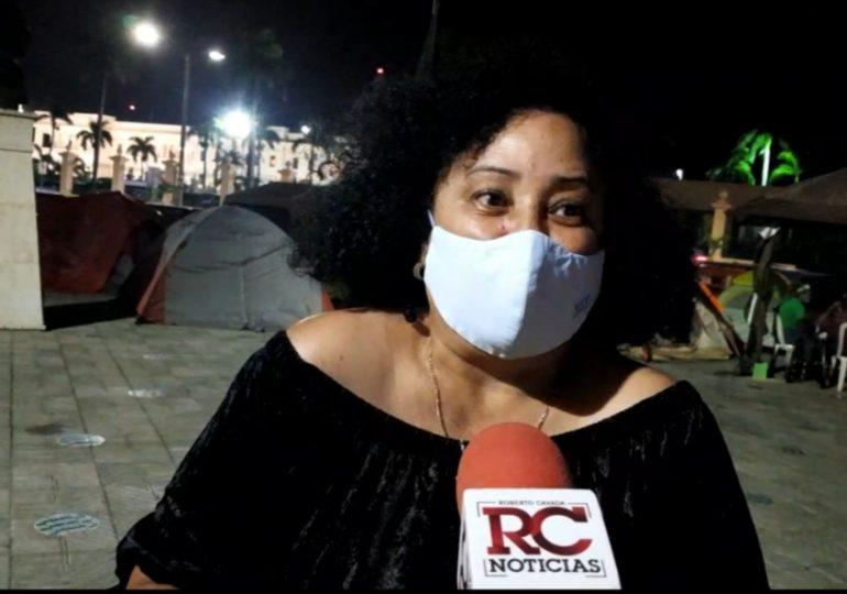 Mujeres mantendrán campamento durante la Semana Santa
