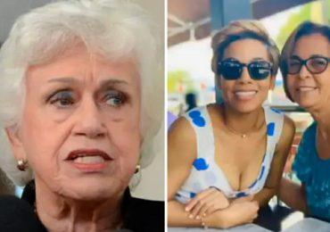 Madre de Nelsy Cruz sale en su defensa y llama ''vieja chancluda'' a Milagros Ortiz