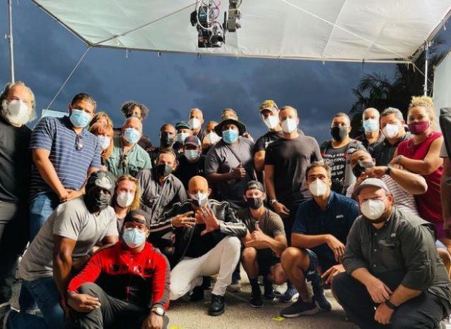 Vin Diesel rueda film en República Dominicana