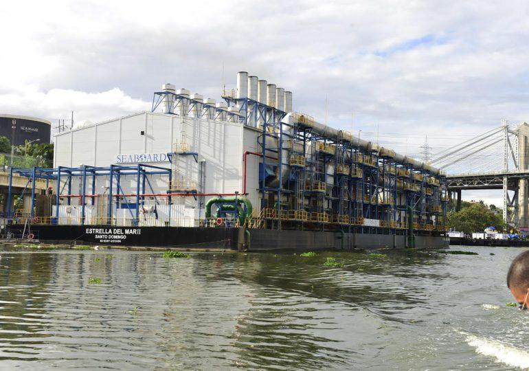 El Estado subsidia con RDS 926 millones a la barcaza eléctrica del río Ozama