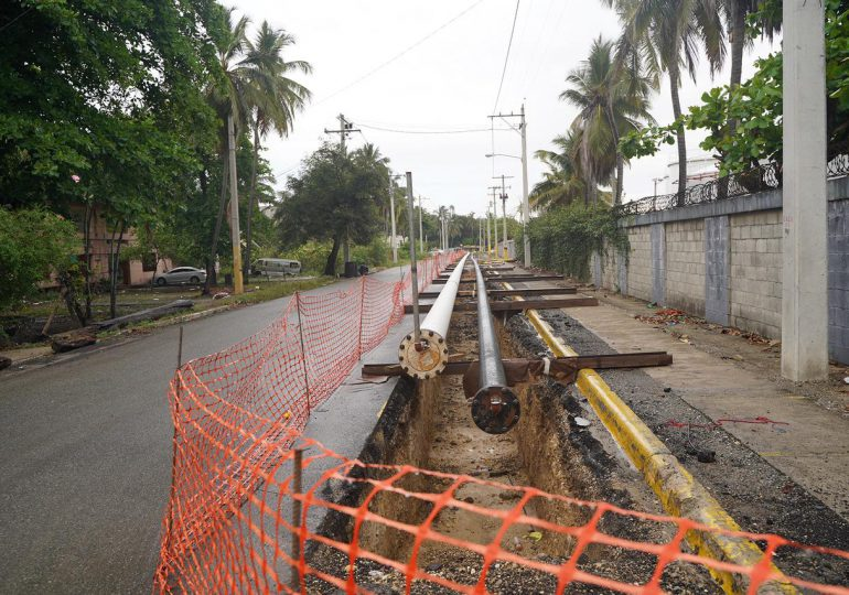 Refidomsa construye nuevo oleoducto con mayor capacidad de suministro