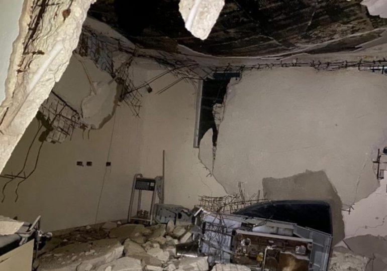 Colapsa techo de quirófano en el Hospital de Villa Jaragua
