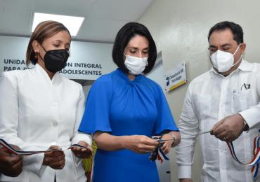 Inauguran Unidad de Atención Integral de Adolescentes Hospital Juan Pablo Pina