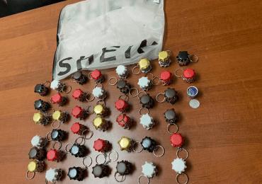 Incautan más de medio kilo de cocaína en llaveros que enviarían a EEUU