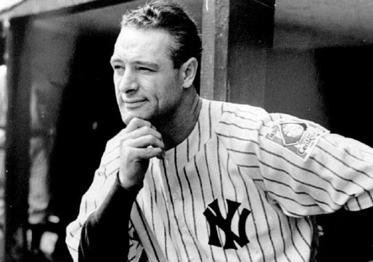 """MLB honrará a la leyenda de los Yankees con un """"Lou Gehrig Day"""""""