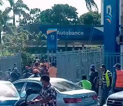 Banreservas dice asalto frente a sucursal en Higüey, se trata de un hecho aislado