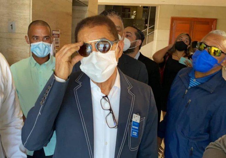 VIDEO |Diandino Peña llega a la Procuraduría para ser interrogado