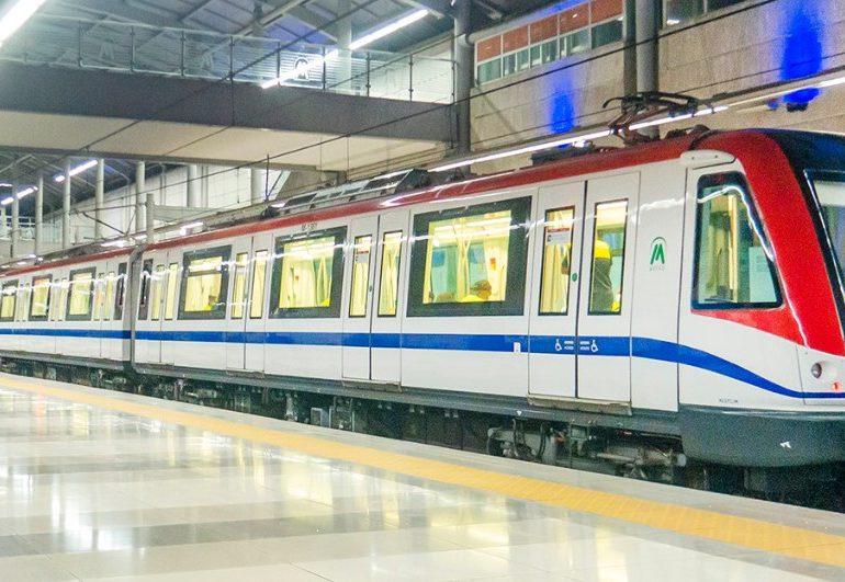 Realizan pruebas de ampliación del Metro con la incorporación de seis vagones por cada tren
