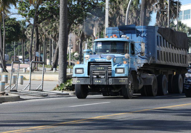 Prohíben circulación de vehículos de carga en Semana Santa