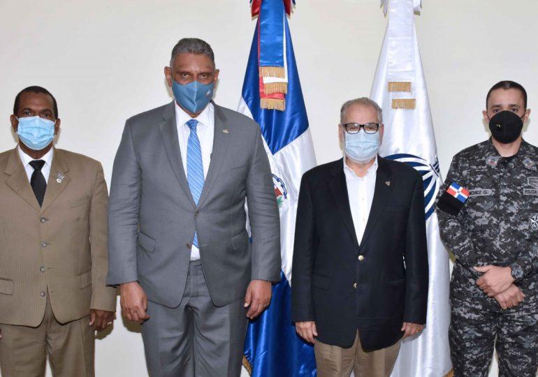 Ministerio de Economía realiza encuentro con Interior y Policía y la PN para apoyar política de seguridad ciudadana