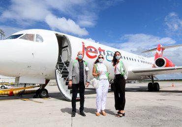 Inauguran nueva ruta aérea entre Curazao y Santo Domingo