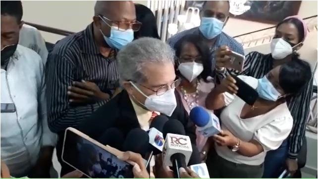 VIDEO | CMD afirma mantendrá huelga de hambre tras reunión con ministro de Salud