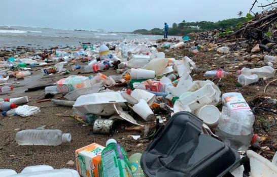 Plásticos arropan playas de Puerto Plata, entidades se unen para jornada de limpieza