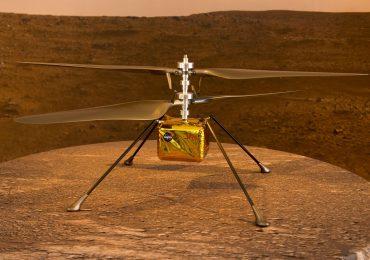 El helicóptero de la NASA está listo para su primer vuelo en Marte este  domingo