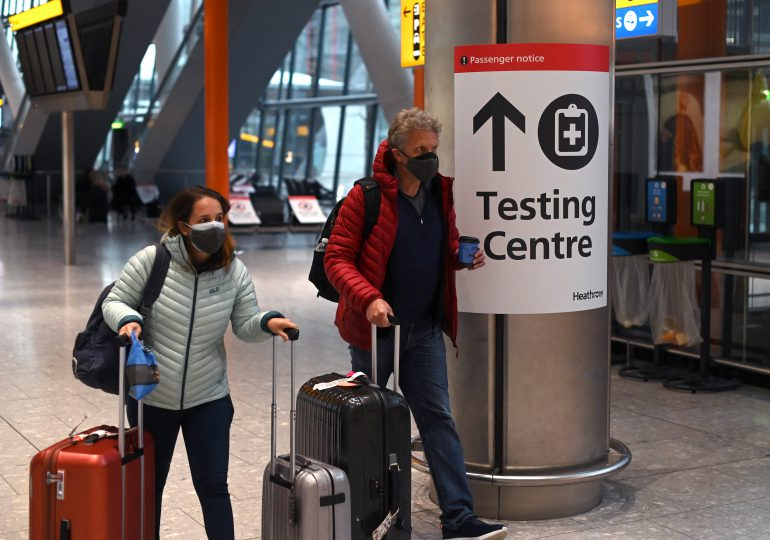 Reino Unido revela nuevas reglas para viajes internacionales durante pandemia