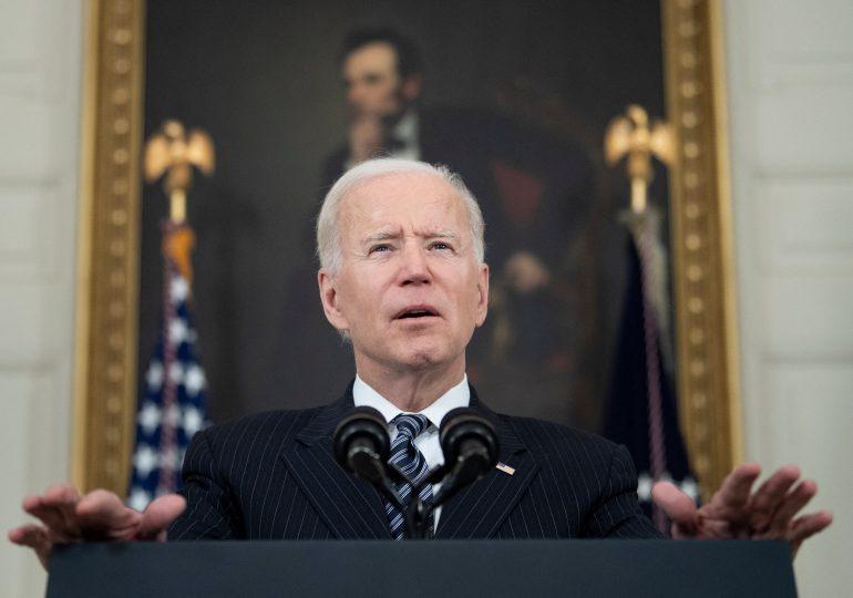 Biden invitado a dirigirse al Congreso para marcar sus 100 días en el poder
