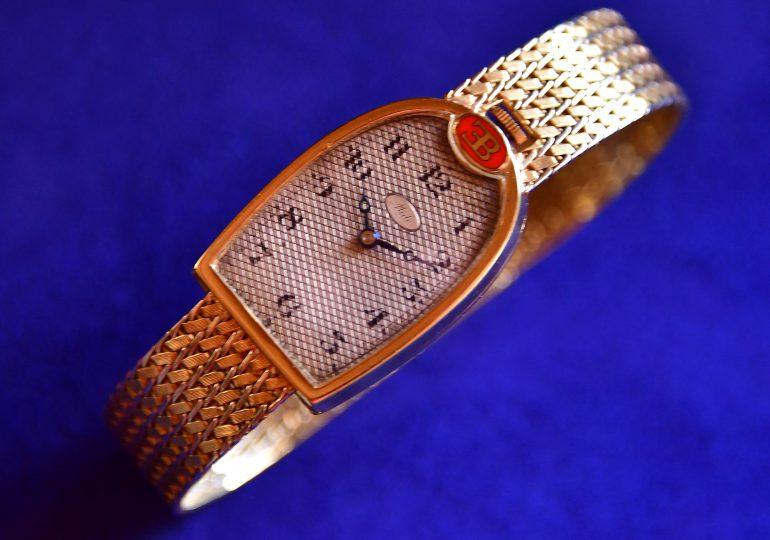 El reloj de oro de Ettore Bugatti se vende por 272.800 euros