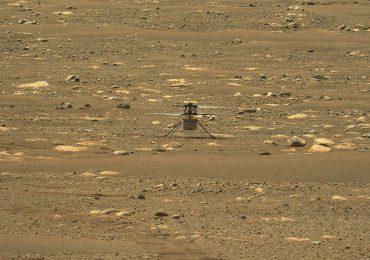 Más alto y por más tiempo: helicóptero Ingenuity vuela una segunda vez en Marte