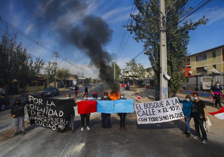 Protestas en Chile para pedir tercer retiro de fondos de pensión