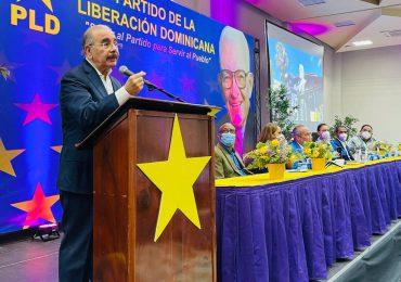 """El PLD está de vuelta"", asegura Danilo Medina"