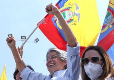 """Lasso anuncia """"un verdadero cambio"""" para Ecuador"""