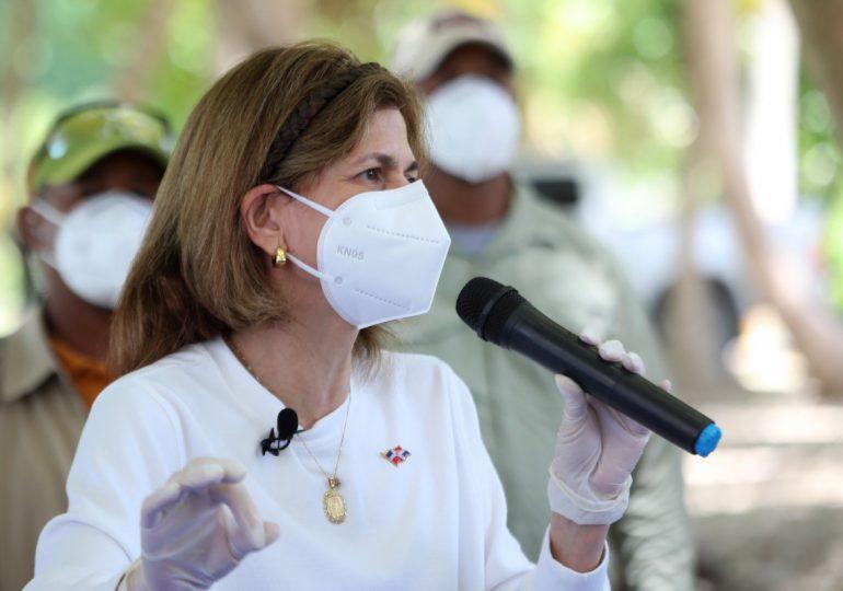 VIDEO | Raquel Peña informa lote vacunas contra covid debían llegar el 25 de marzo