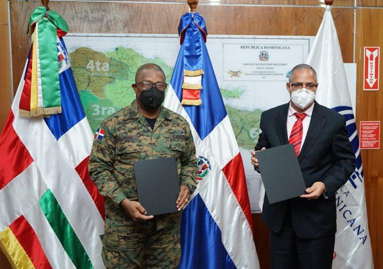 Desarrollo Fronterizo y el Ejército firman acuerdo interinstitucional