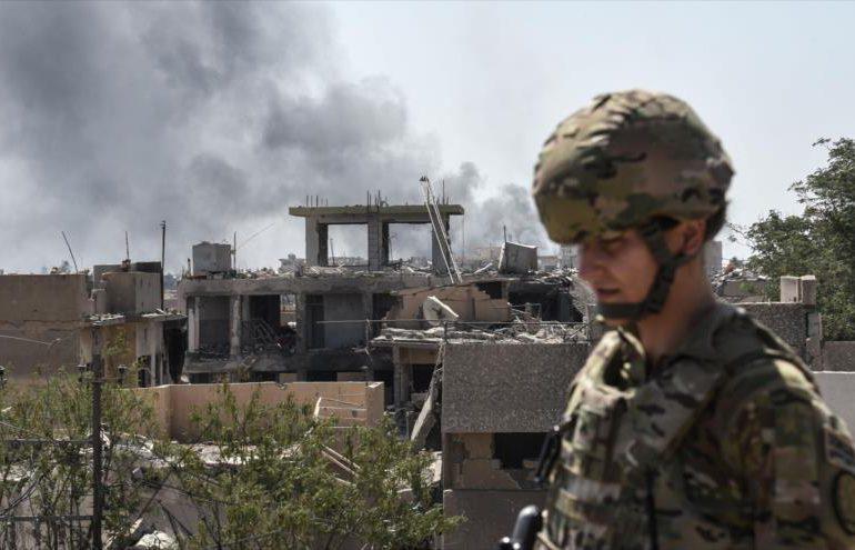 Cinco cohetes impactan en una base con tropas estadounidenses en Irak