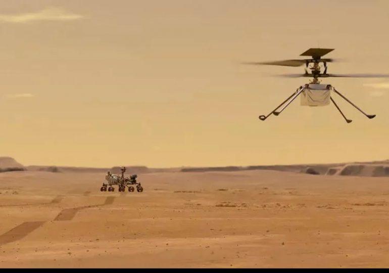 El helicóptero Ingenuity de la NASA podría volar en Marte el lunes