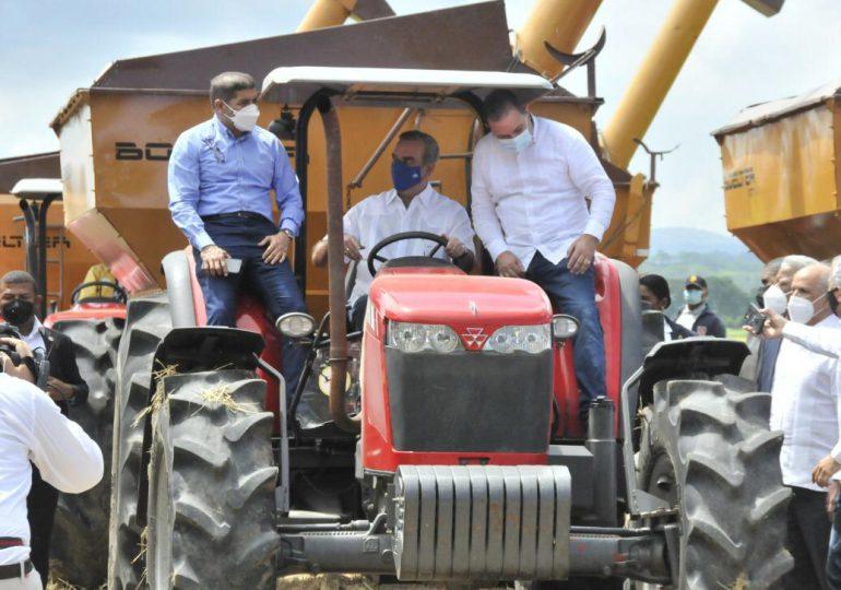Intervención del Gobierno incrementa productividad arroz; inicia cosecha 2021