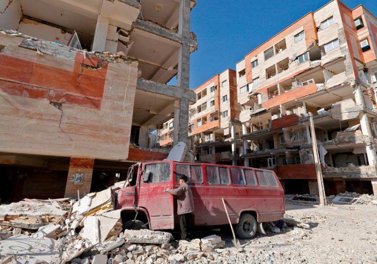 Cinco heridos en sismo en Irán