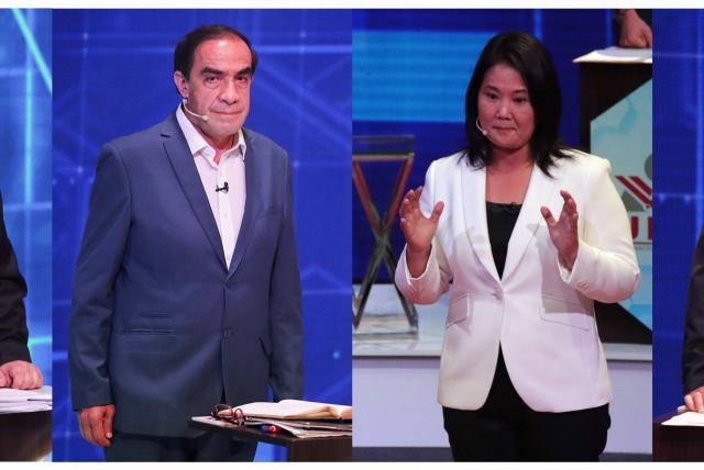 Candidatos presidenciales de Perú instan a la calma tras votar