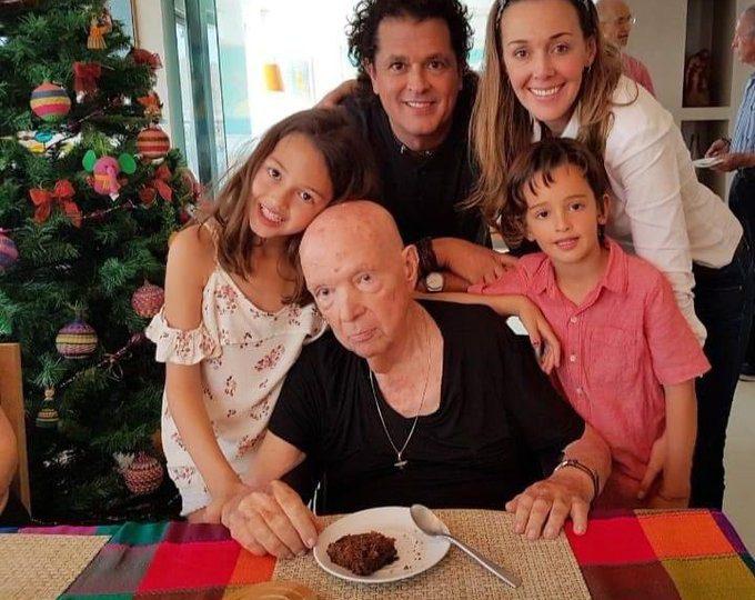 Muere Luis Aurelio Vives Echeverría, papá de Carlos Vives