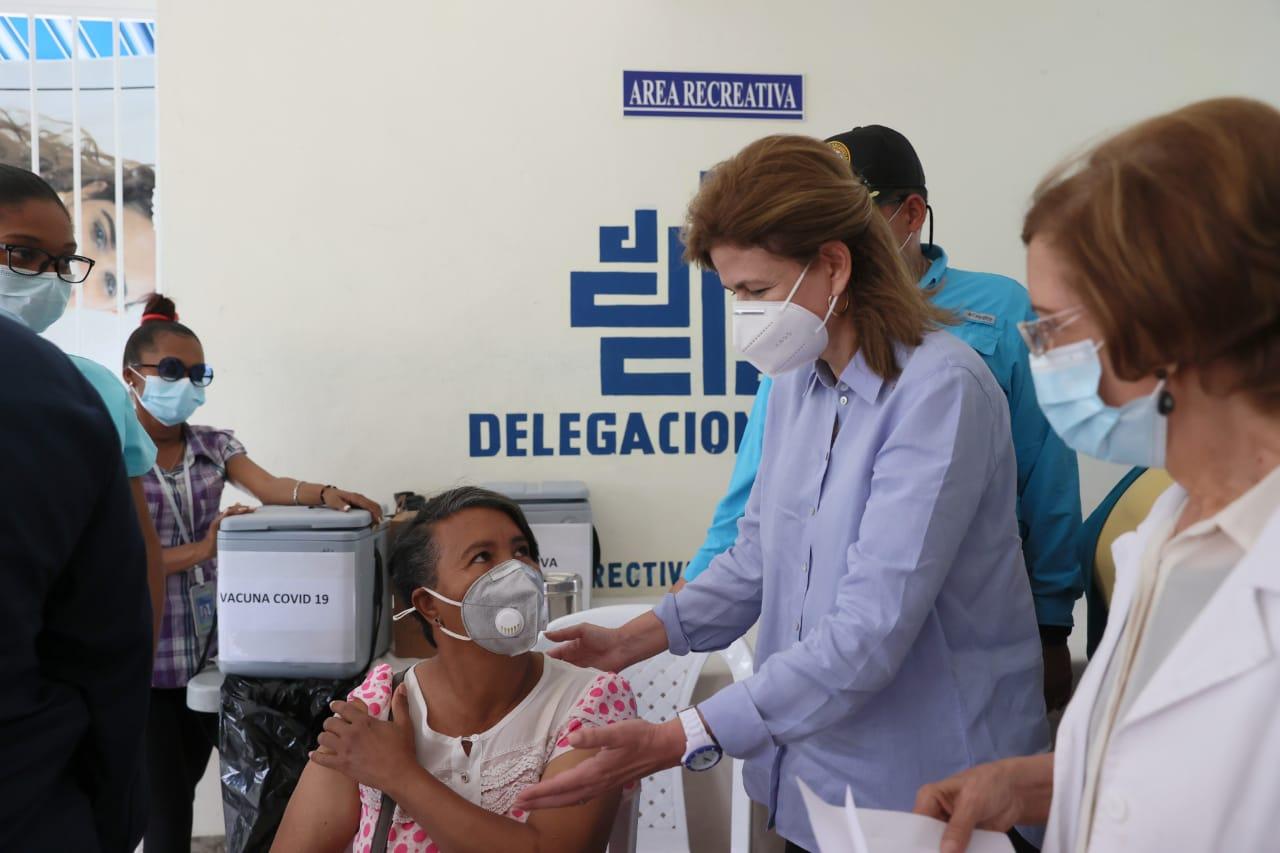 Raquel Peña supervisa obras anunciadas en Consejo de Ministros en provincia San Juan
