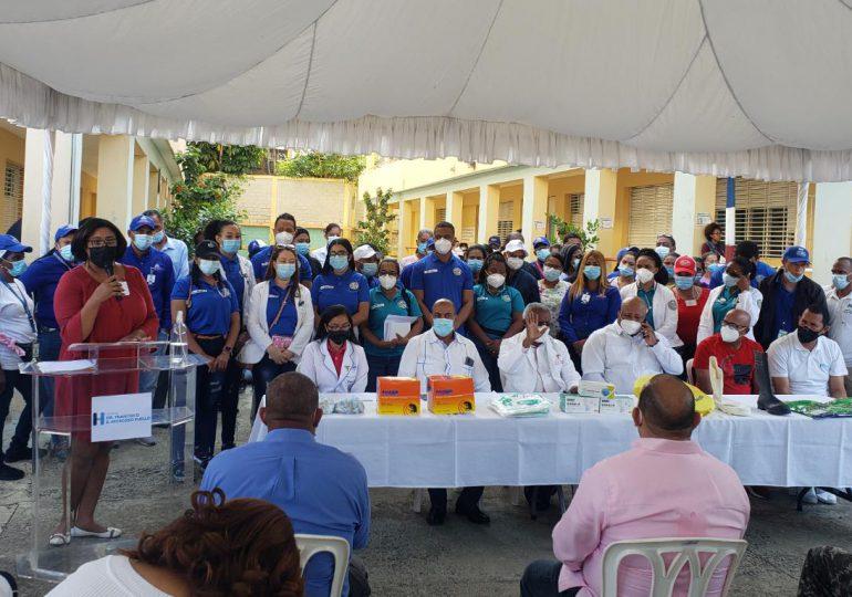 VIEO | Realizan operativo de prevención de enfermedades en sector Capotillo
