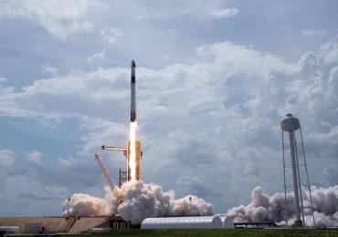 Despega la tercera misión tripulada de SpaceX hacia la ISS