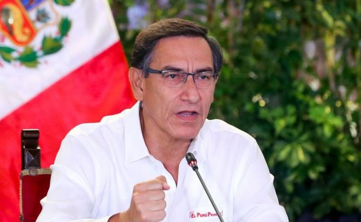 Expresidente peruano Vizcarra contrae covid-19 pese a estar vacunado