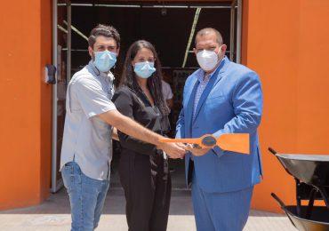 Alcaldía de SDN recibe donación de materiales para prevención del Covid-19